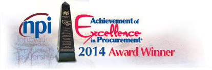 Achievement of Excellence in Procurement Award